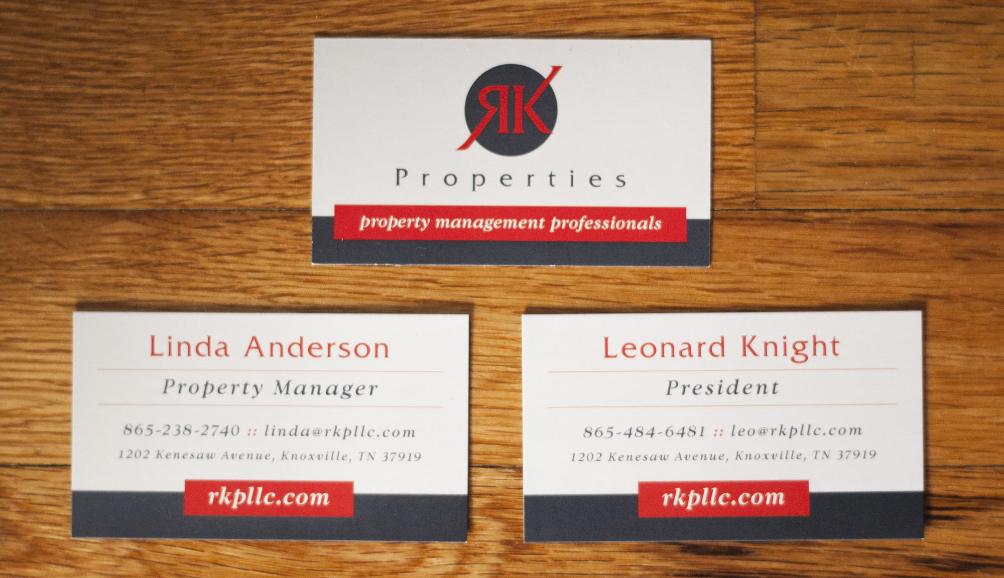 Ethan Beyer: RK Properties - Business Cards