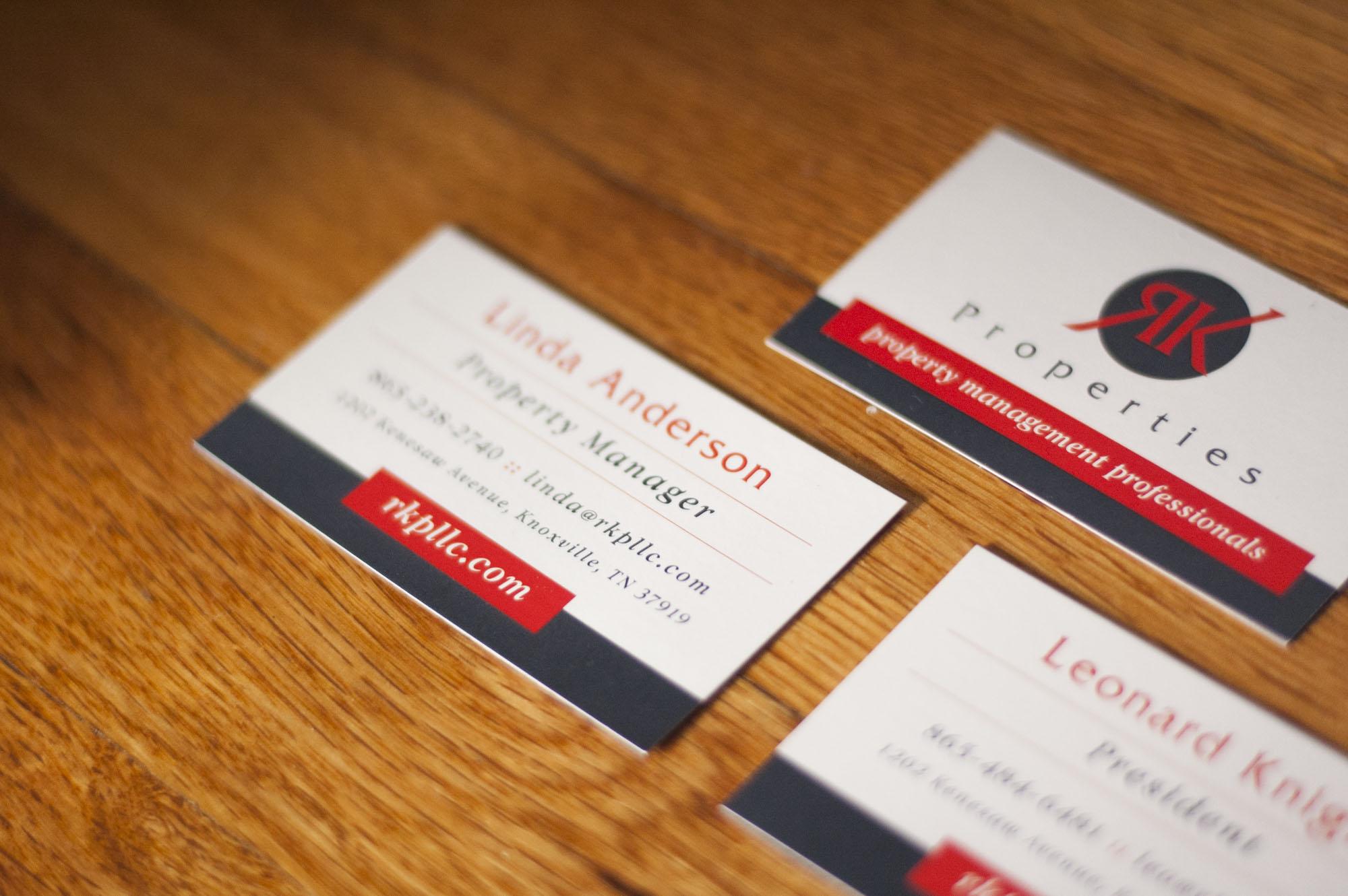 Ethan Beyer: RK Properties - Business Cards